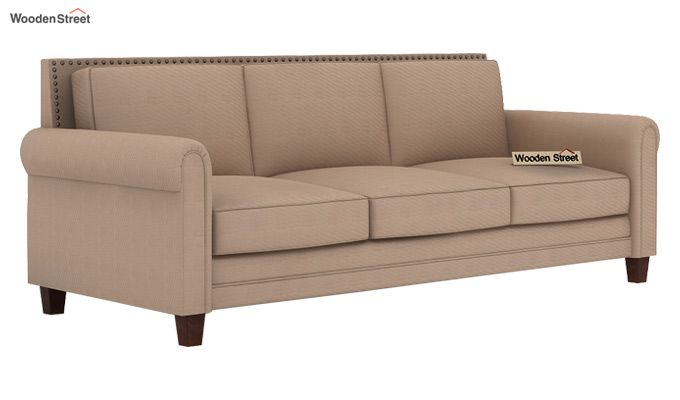Aldean 2 Seater Fabric Sofa (Irish Cream)-5