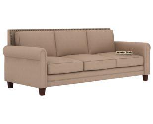 Aldean 3 Seater Fabric Sofa (Irish Cream)