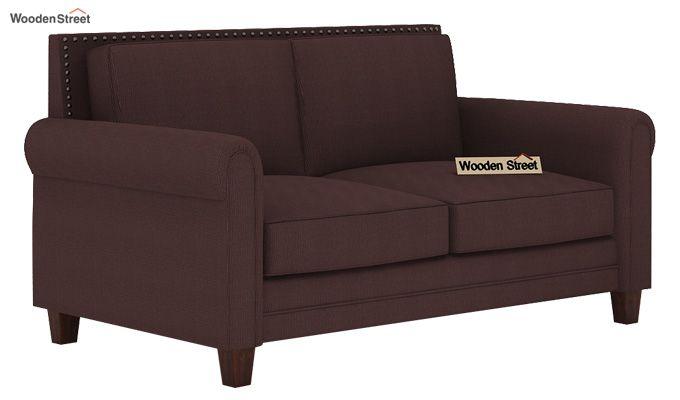 Aldean 2 Seater Fabric Sofa (Classic Brown)-1