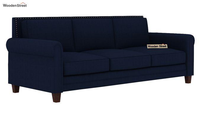 Aldean 3 Seater Fabric Sofa (Indigo Ink)-2