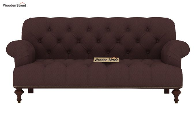 Allison 3+2 Fabric Sofa Set  (Classic Brown)-5