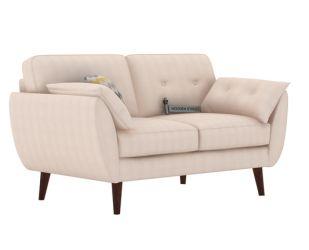 Angela 2 Seater Sofa (Fabric, Ivory Nude)