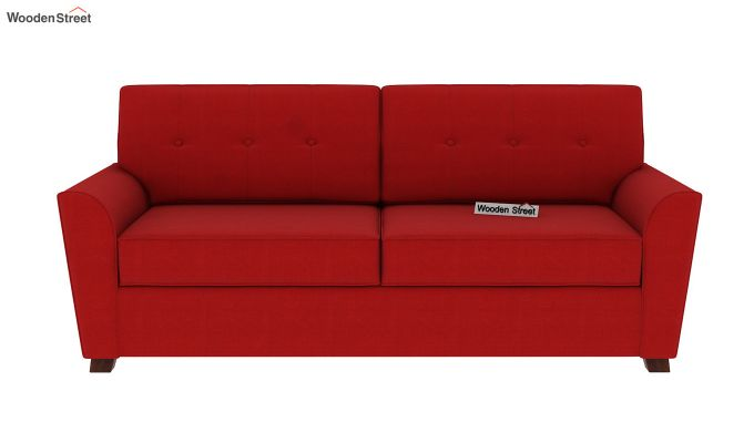 Archerd 3 Seater Sofa (Fabric, Dusky Rose)-4