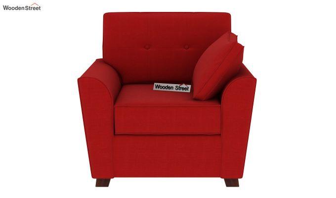 Archerd 1 Seater Sofa (Fabric, Dusky Rose)-3