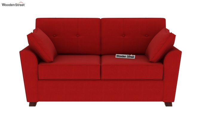 Archerd 3 Seater Sofa (Fabric, Dusky Rose)-8