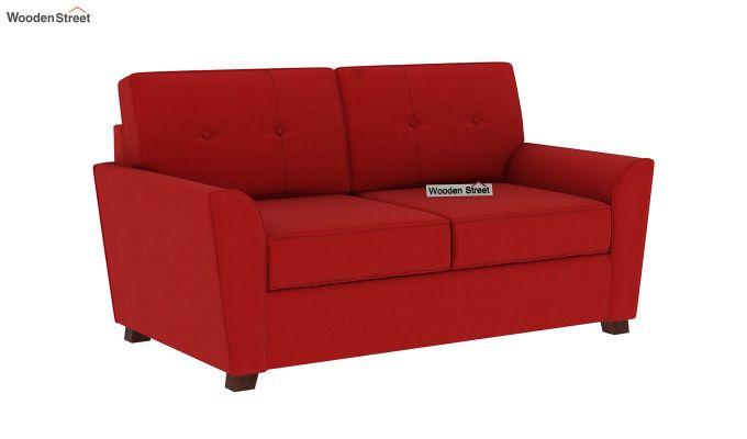 Archerd 2 Seater Sofa (Fabric, Dusky Rose)-3
