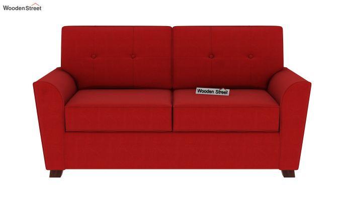 Archerd 2 Seater Sofa (Fabric, Dusky Rose)-4