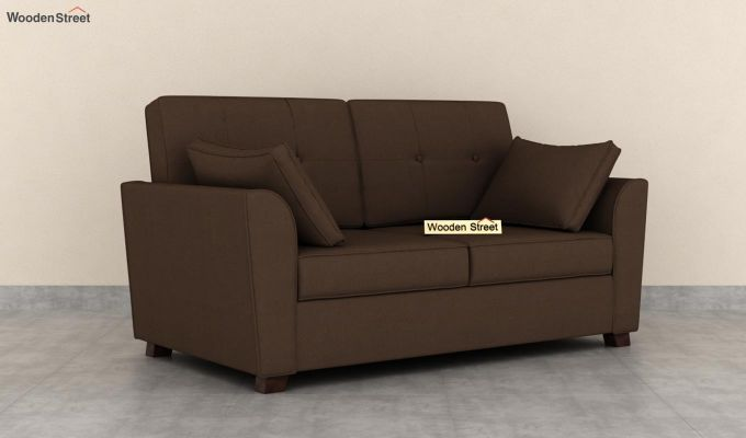 Archerd 2 Seater Sofa (Fabric, Classic Brown)-2