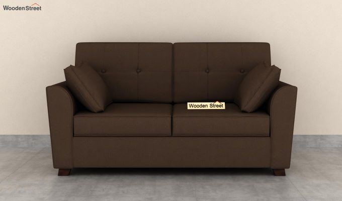 Archerd 2 Seater Sofa (Fabric, Classic Brown)-3