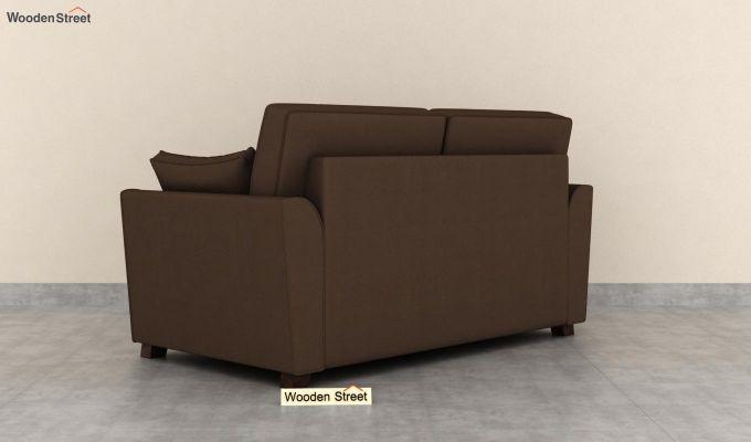 Archerd 2 Seater Sofa (Fabric, Classic Brown)-4