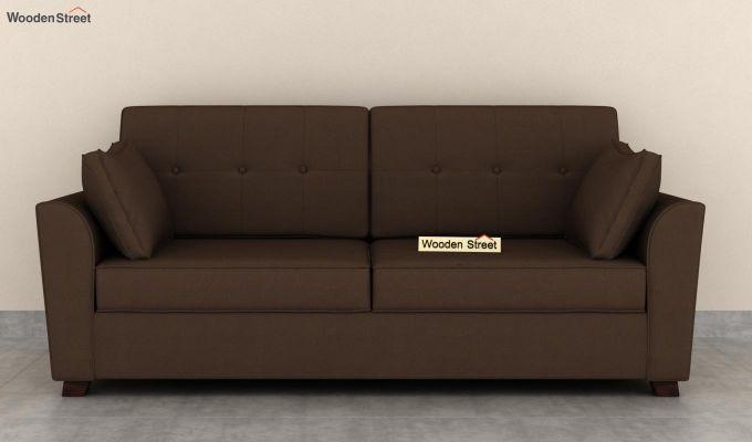 Archerd 2 Seater Sofa (Fabric, Classic Brown)-8