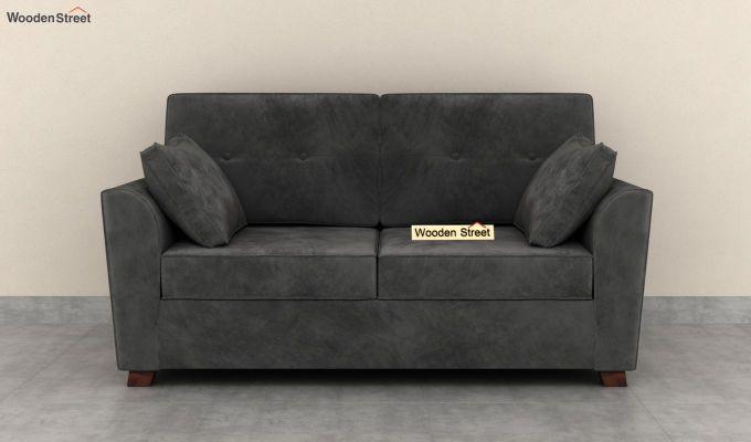 Archerd 2 Seater Sofa (Velvet, Graphite Grey)-3