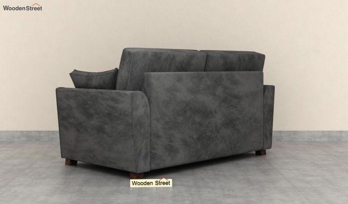 Archerd 2 Seater Sofa (Velvet, Graphite Grey)-4