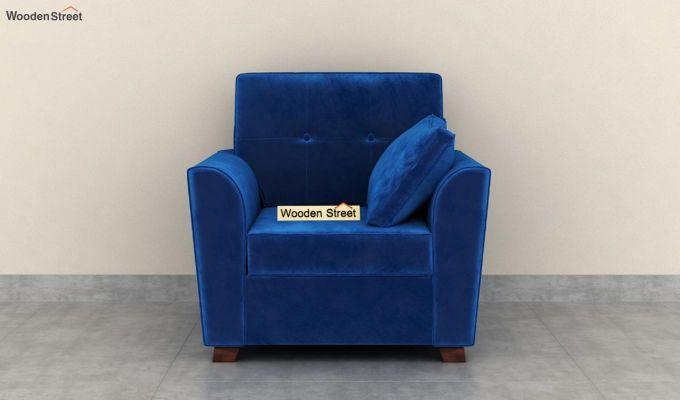 Archerd 2 Seater Sofa (Velvet, Indigo Blue)-6
