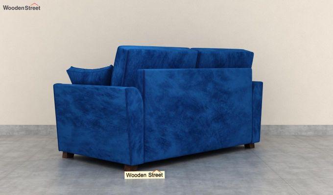 Archerd 2 Seater Sofa (Velvet, Indigo Blue)-4