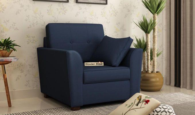 Archerd 2 Seater Sofa (Fabric, Indigo Ink)-5