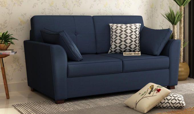 Archerd 2 Seater Sofa (Fabric, Indigo Ink)-2