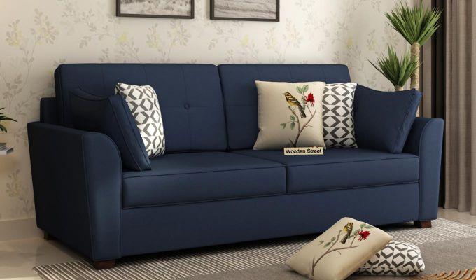 Archerd 2 Seater Sofa (Fabric, Indigo Ink)-7
