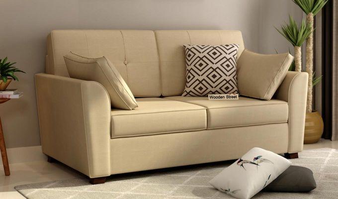 Archerd 2 Seater Sofa (Fabric, Irish Cream)-1