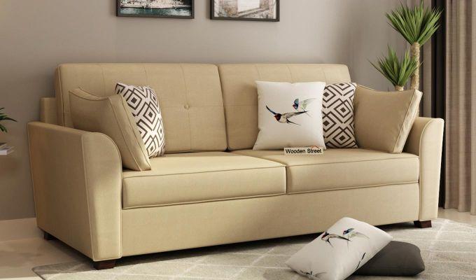 Archerd 2 Seater Sofa (Fabric, Irish Cream)-7