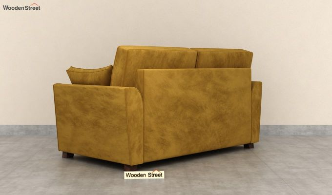 Archerd 2 Seater Sofa (Velvet, Chestnut Brown)-4