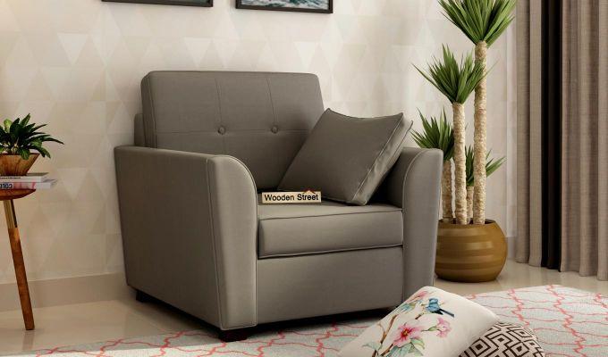 Archerd 2 Seater Sofa (Fabric, Warm Grey)-5
