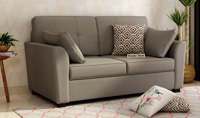 Archerd 2 Seater Sofa (Fabric, Warm Grey)-1