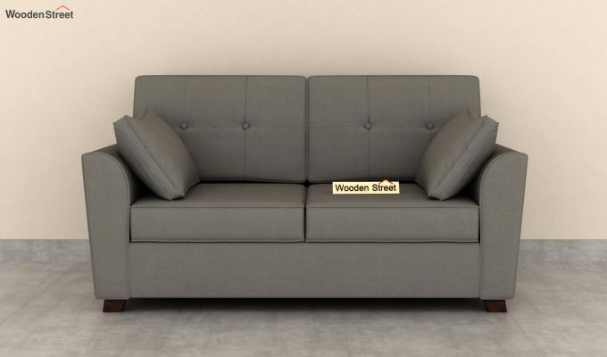 Archerd 2 Seater Sofa (Fabric, Warm Grey)-3