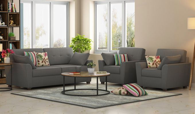 Admirable Buy Archerd 3 1 1 Sofa Set Fabric Warm Grey Online In India Wooden Street Pdpeps Interior Chair Design Pdpepsorg