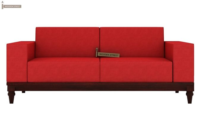 Ayres 2 Seater Fabric Sofa (Dusky Rose)-1
