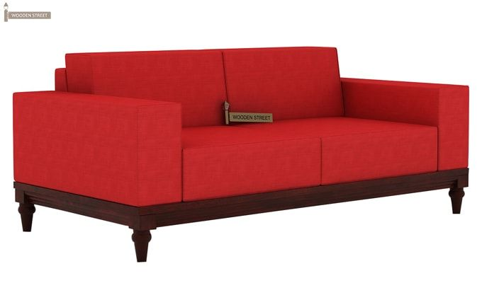 Ayres 1 Seater Fabric Sofa (Dusky Rose)-4