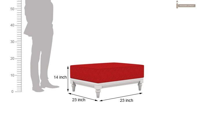 Ayres 1 Seater Fabric Sofa (Dusky Rose)-11