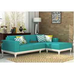 Ayres Fabric Sofa Set (Electric Turquoise)