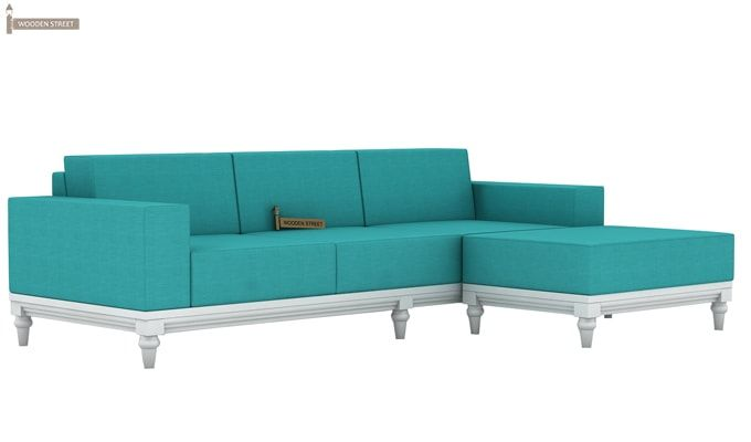 Ayres Fabric Sofa Set (Electric Turquoise)-8