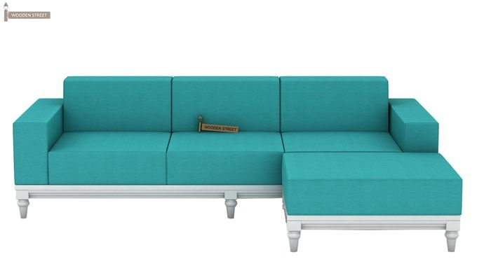 Ayres Fabric Sofa Set (Electric Turquoise)-10