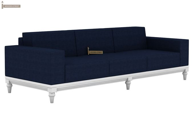 Ayres 3 Seater Fabric Sofa (Indigo Ink)-3