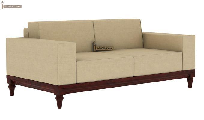 Ayres 2 Seater Fabric Sofa (Irish Cream)-2