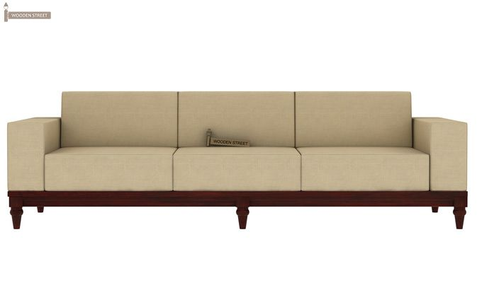 Ayres 3 Seater Fabric Sofa (Irish Cream)-1