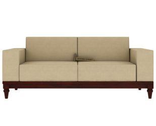 Ayres 2 Seater Fabric Sofa (Irish Cream)