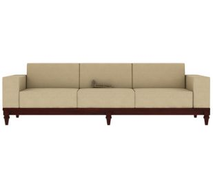 Ayres 3 Seater Fabric Sofa (Irish Cream)