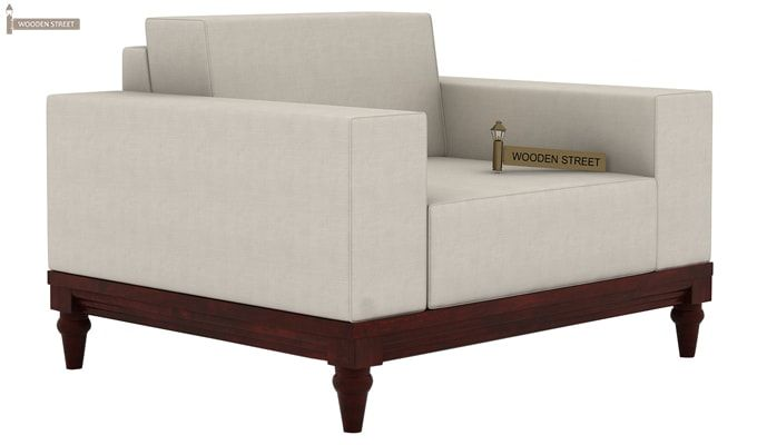Ayres 1 Seater Fabric Sofa (Ivory Nude)-1