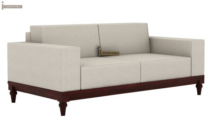 Ayres 2 Seater Fabric Sofa (Ivory Nude)-1