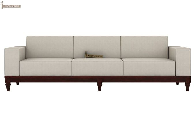 Ayres 3 Seater Fabric Sofa (Ivory Nude)-2