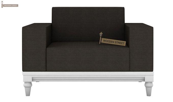 Ayres 2 Seater Fabric Sofa (Steel Grey)-4