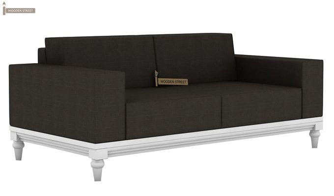 Ayres 2 Seater Fabric Sofa (Steel Grey)-1