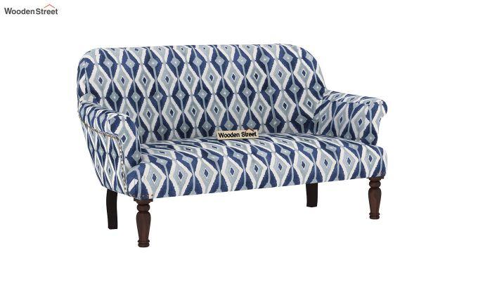 Bailey 2 Seater Sofa (Kilim, Persian Blue)-2