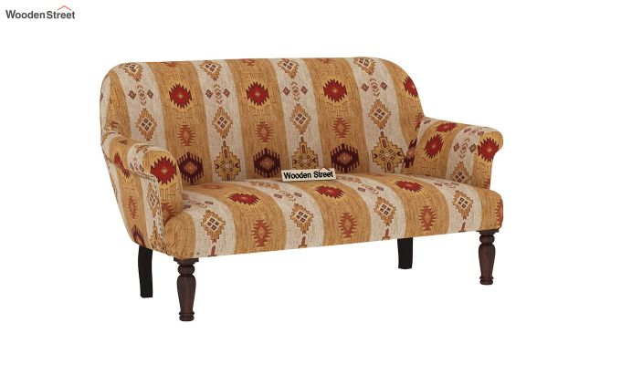 Bailey 2 Seater Sofa (Kilim, Sandstone Gold)-2