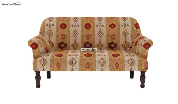 Bailey 2 Seater Sofa (Kilim, Sandstone Gold)-3