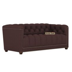 Baxter 2 Seater Sofa (Fabric, Classic Brown)
