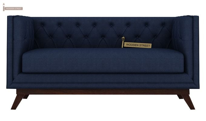 Berlin 3+2 Fabric Sofa Set  (Indigo Ink)-5